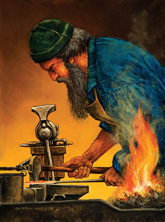 18TH CENTURY BLACKSMITHING